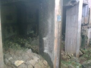 Reruntuhan bangunan